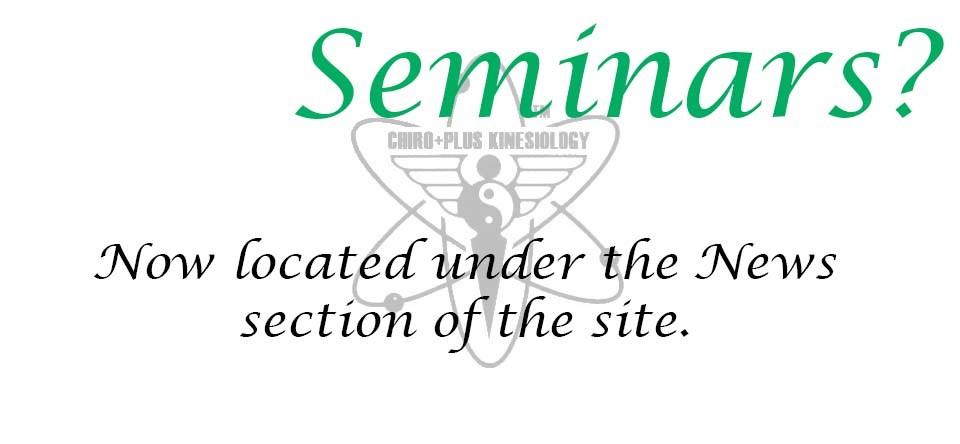 Seminars?